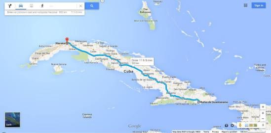 Oblivious in Cuba?